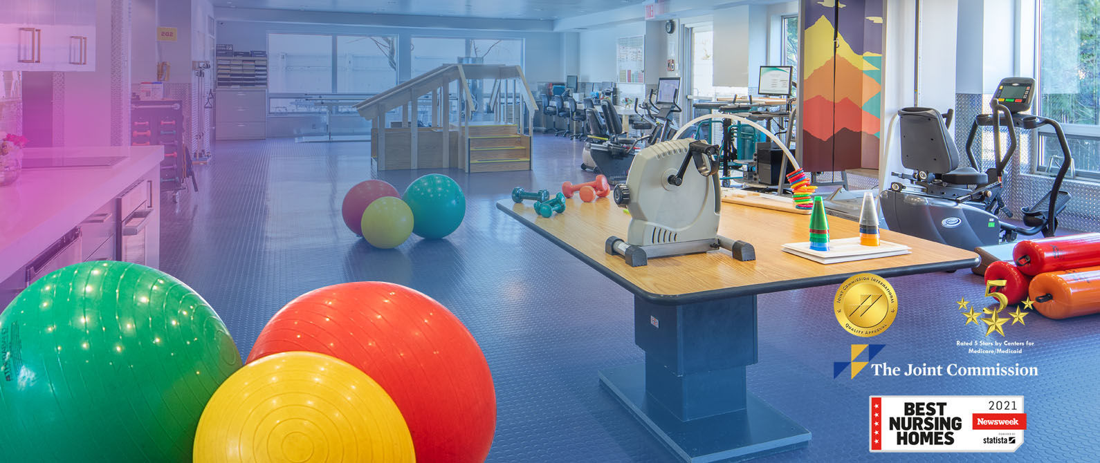 PT Gym at Long Island Care Center